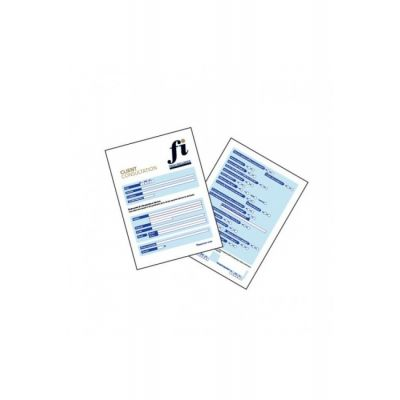 Client Consultation Cards